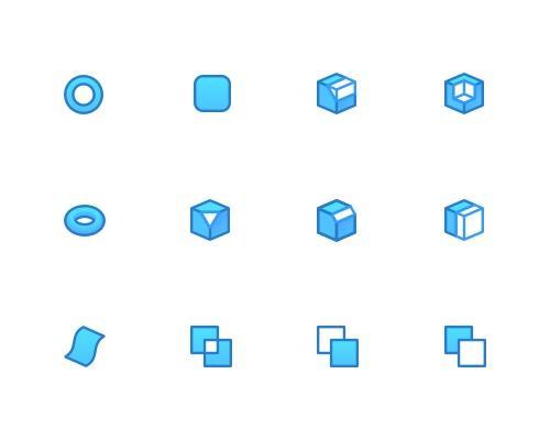 40 枚CAD相关Sketch图标-uikit.me