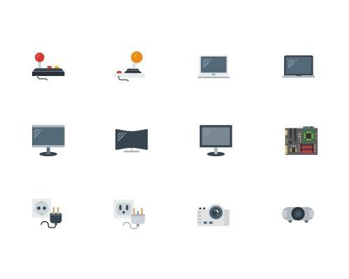 120 枚科技相关Sketch图标-uikit.me