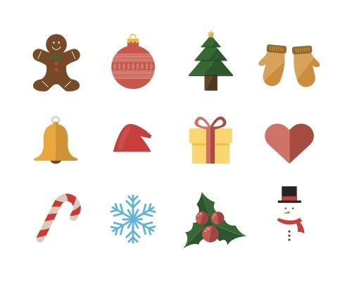 15 枚圣诞Sketch图标-uikit.me