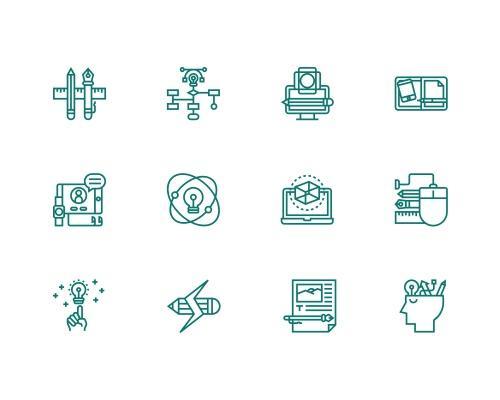 30 枚设计相关图标-uikit.me