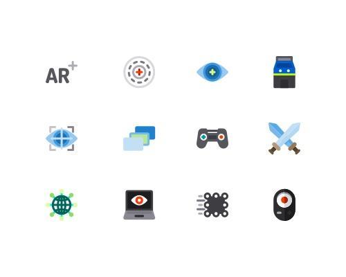 50 枚VR相关图标-uikit.me