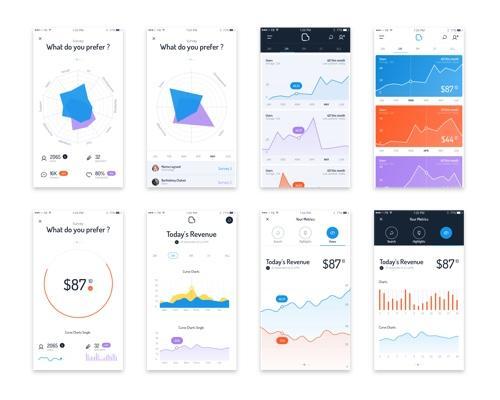 Acro Statistics UI-uikit.me