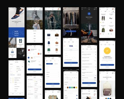 Aware Ecommerce App UI-uikit.me