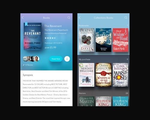 Book Store App Concept-uikit.me