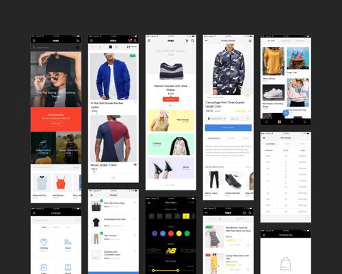 Max Ecommerce App UI-uikit.me