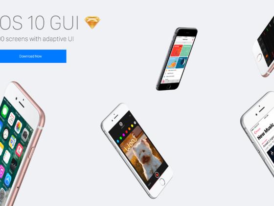 iOS 10 GUI-uikit.me
