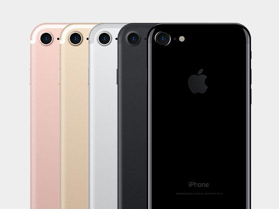iPhone 7 正背面全色系模型-uikit.me