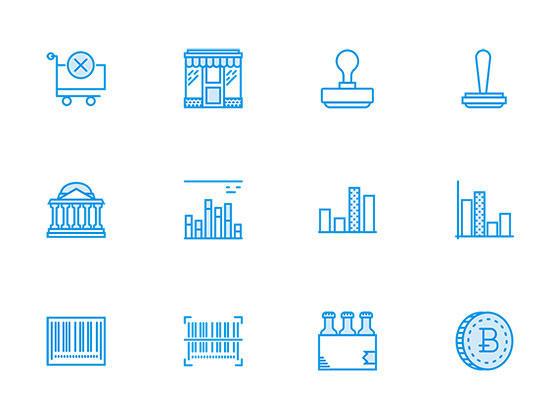 170 枚商务和市场营销图标-uikit.me