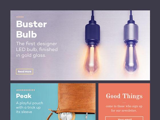 设计和科技杂志模板-uikit.me