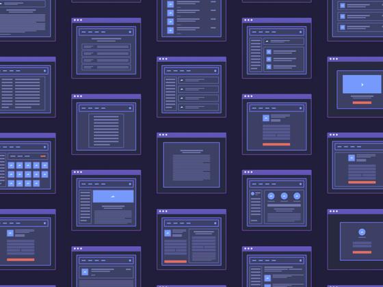 Web App Micro Wireframes-uikit.me