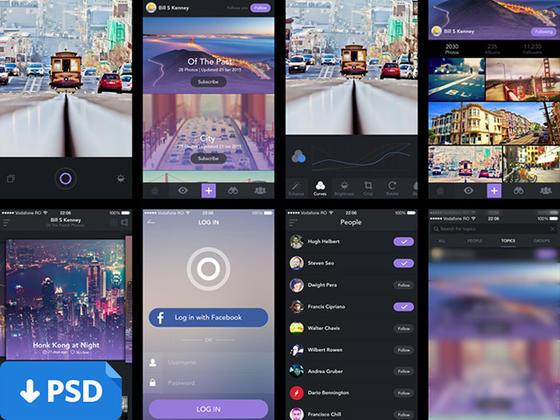 旅游类app-uikit.me