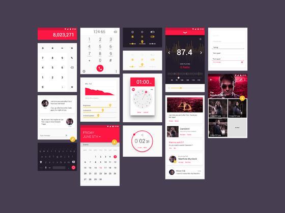 UI kit 一套漂亮的模版-uikit.me