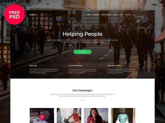 网页模板psd分享-uikit.me