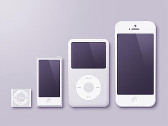 Apple产品模型-uikit.me