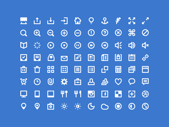 80 Shades of White Icons-uikit.me