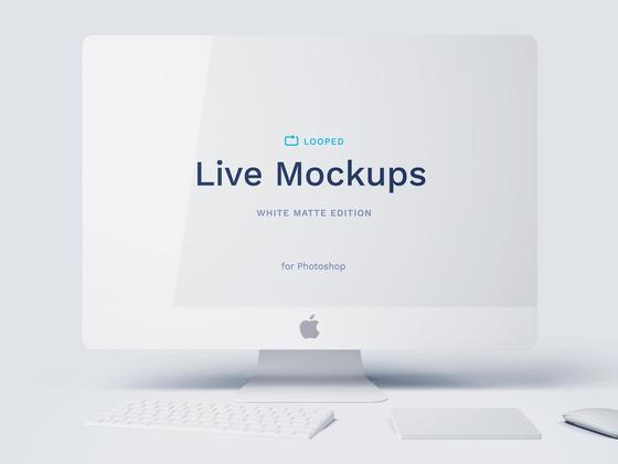 绝佳的苹果系mockup - iMac(psd+sketch)-uikit.me
