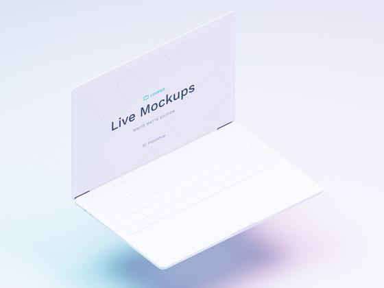 绝佳的苹果系mockup - Macbook(psd+sketch)-uikit.me