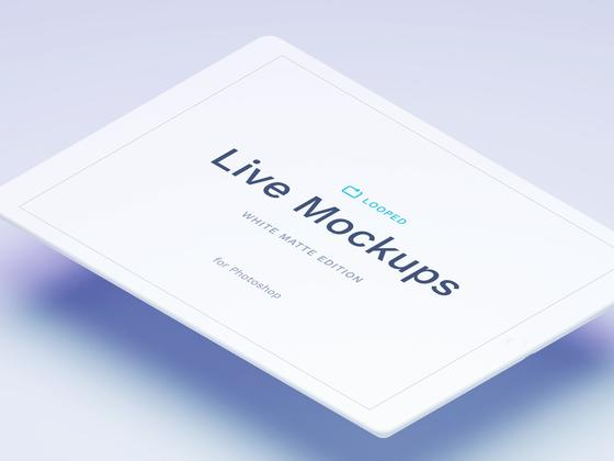 绝佳的苹果系mockup - iPad(psd+sketch)-uikit.me