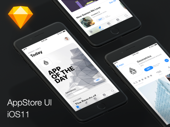 iOS 11 App Store-uikit.me