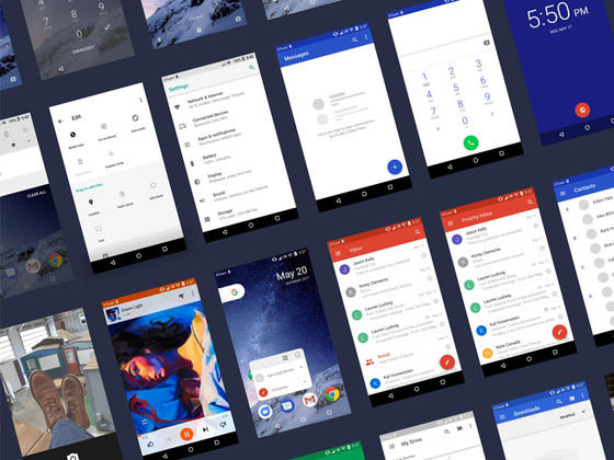 Android O UI Kit(Sketch)-uikit.me
